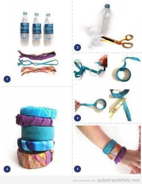 tutorial-paso-a-paso-manualidades-reciclaje-pulsera-plastico-botellas-tela-hilos