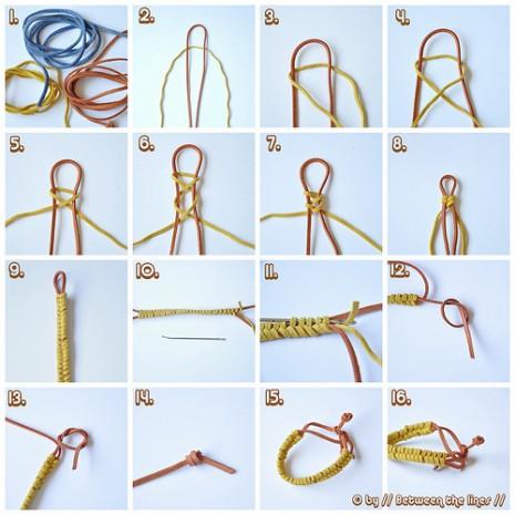 Como-hacer-pulseras-con-cordones-de-zapatos-2