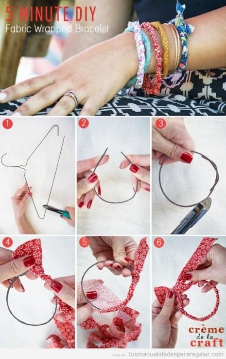 tutorial-pulsera-facil-percha-tela-manualidades-regalar
