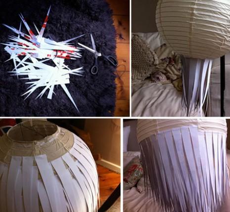 Cómo-renovar-tu-lámpara-de-papel-utilizando-hojas-Paso-a-paso