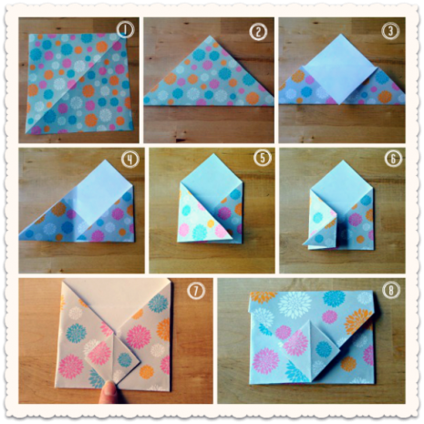 Collage SOBRE ORIGAMI