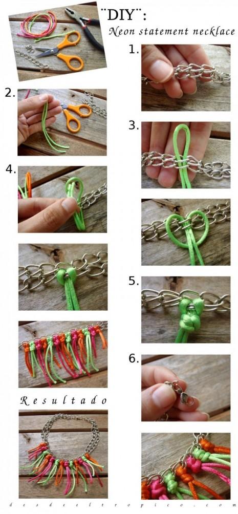 DIY-neon-statement-necklace