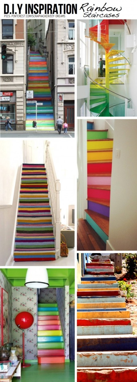rainbow-staircases
