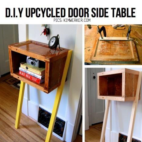 upcycled-door-side-table