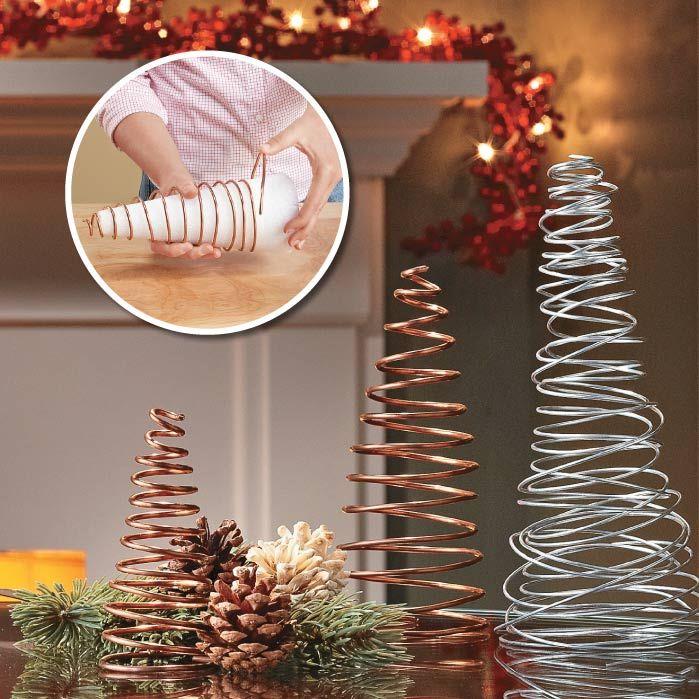 Manualidades Bonitas Recicladas Para Navidad Y Muy Economicas - Manualidades-centros-de-navidad