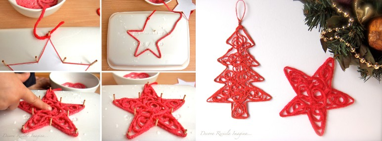 Manualidades bonitas recicladas para navidad y muy econ micas - Manualidades de navidad paso a paso ...