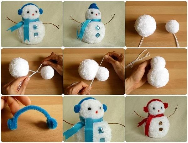 diy-pom-pom-snowman