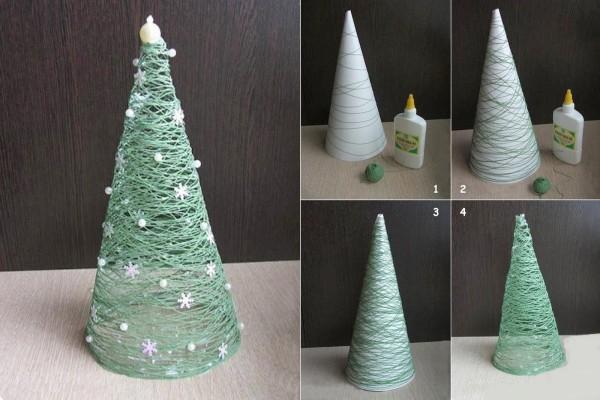 Navidad-con-Lana-o-Cuerda-Manulidades-Paso-a-Paso-e1418615889404