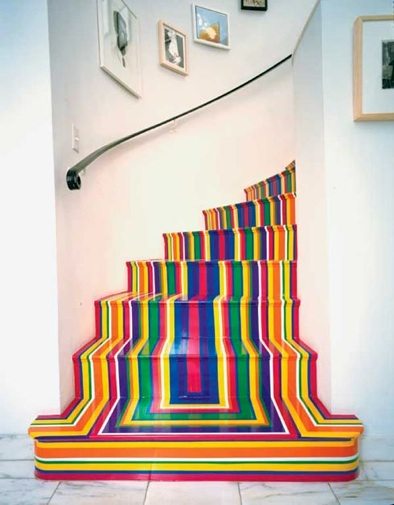 escacolored-stairsstripe-tape