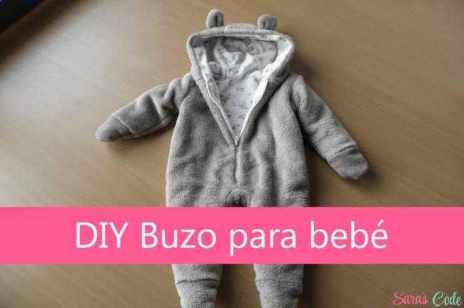 DIY Buzo Baby Sara's Code portada