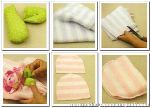 como hacer gorro polar para nena
