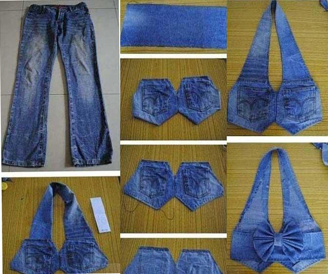 Reciclar ropa de forma divertida y reutilizar ropa usada - Reciclar ropa manualidades ...