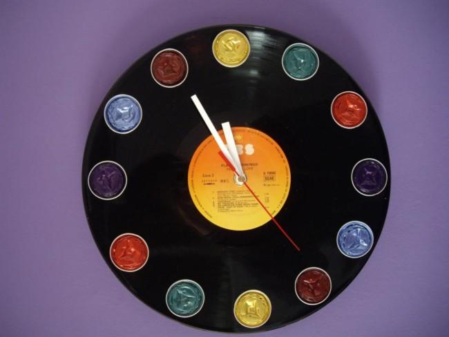 Manualidades y reciclados de discos de vinilo - Manualidades con discos ...