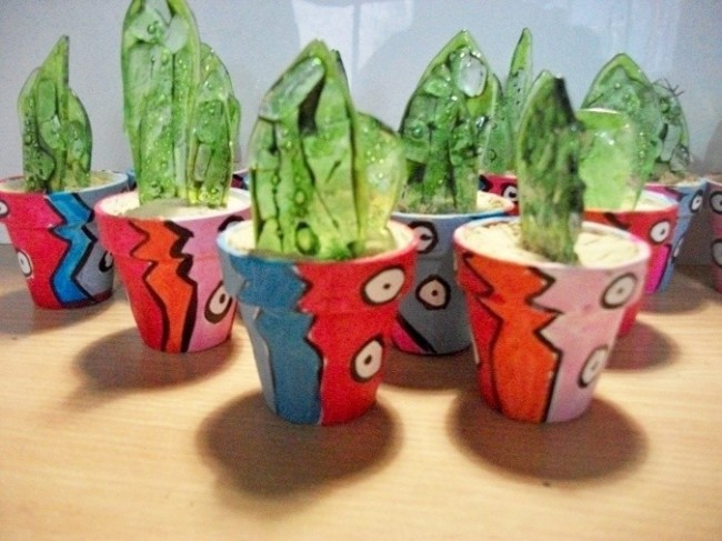 30 minicactus souvenirs artesanales muy originales for Cactus navideno