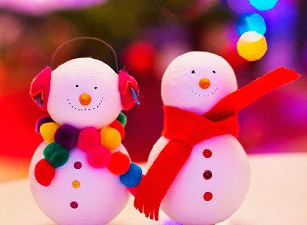 Manualidades para ni os en telgopor diferentes dise os - Adornos navidenos para hacer con ninos ...