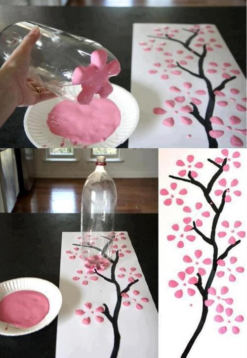 Manualidades originales reciclados para el d a de la madre for Cosas recicladas para decorar tu cuarto