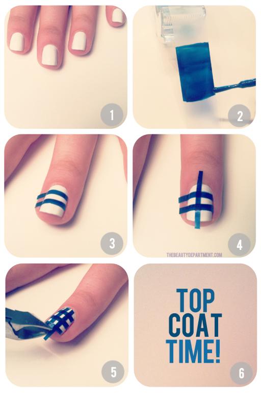 mini tutoriales uas 10 - Como Pintarse Las Uas Bonitas
