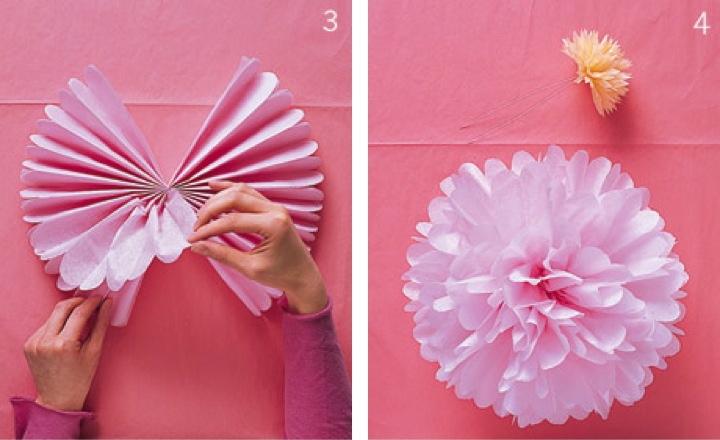 Manualidades con papeles reciclados originales y creativas - Como decorar un salon para comunion ...