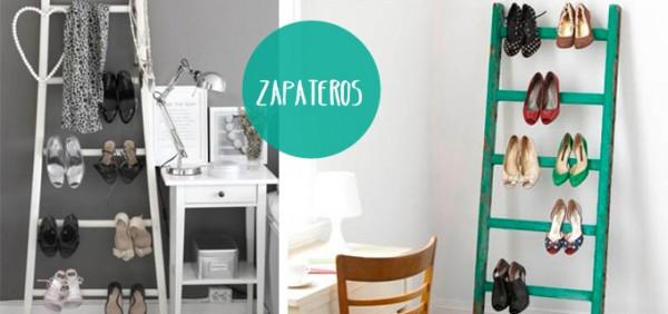 Escaleras zapateros manualidades y reciclados for Zapateros originales