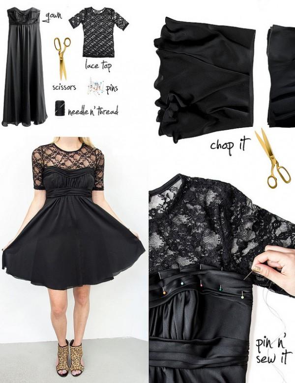 Ideas para reciclar vestidos de fiesta