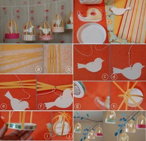 Jaulas Decorativas Paso a Paso, Manualidades Faciles