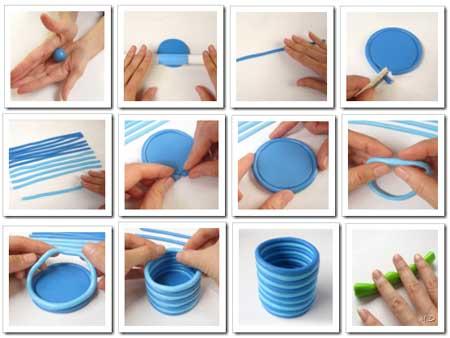 paso a paso lapicero porcelana