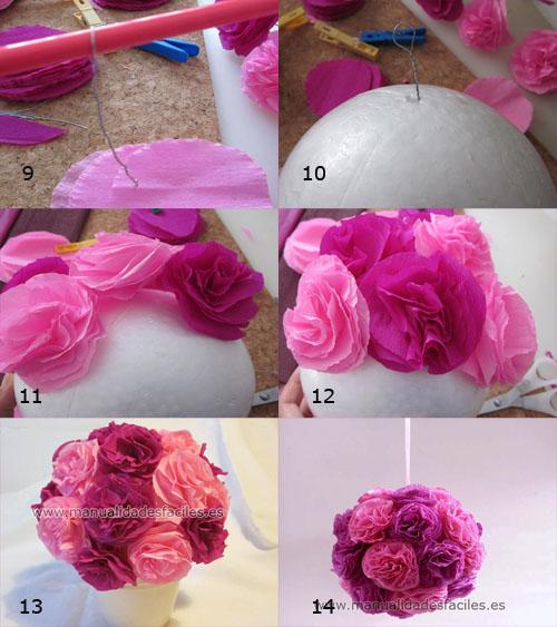 Como Hacer Flores Manualidades Para Hacer Flores Originales
