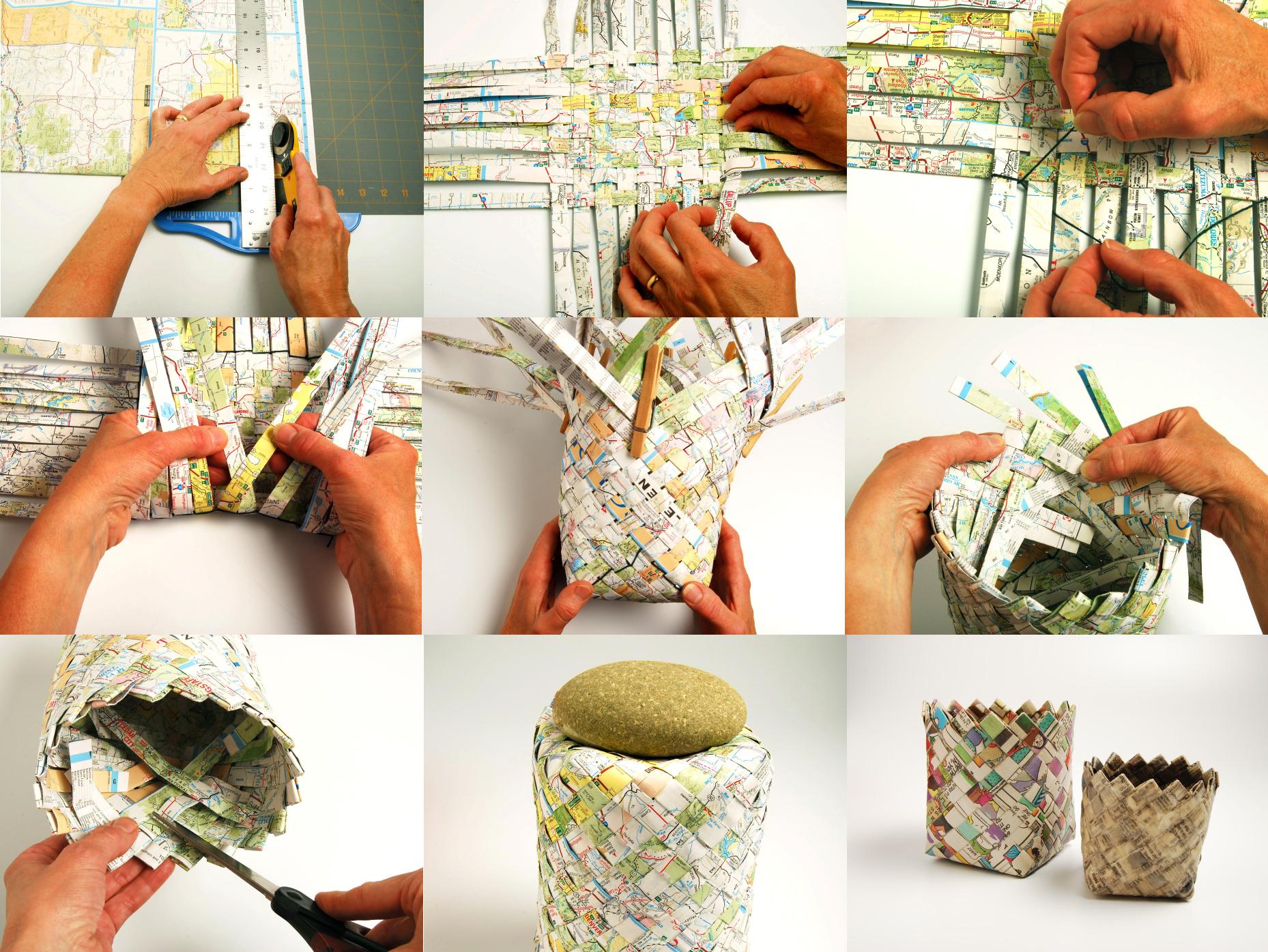Ikea Diy Manualidades Con Papeles Reciclados Originales Y Creativas