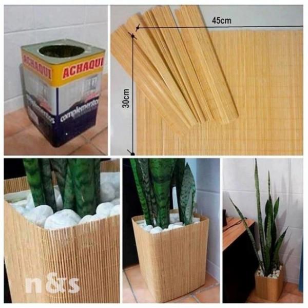 C mo reciclar macetas muchas ideas originales de macetas for Ideas para decorar macetas