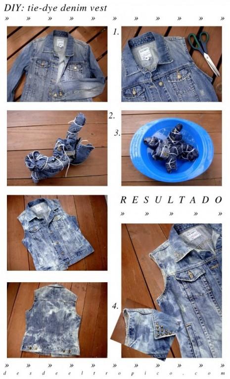 DIY-chaleco-de-mezclilla-con-efecto-tie-dye
