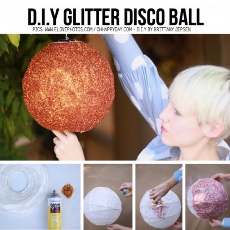 DIy-glitter-disco-ball