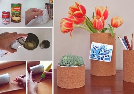 Portal pices reciclados ideas f ciles y econ micas for Imagenes de oficinas decoradas