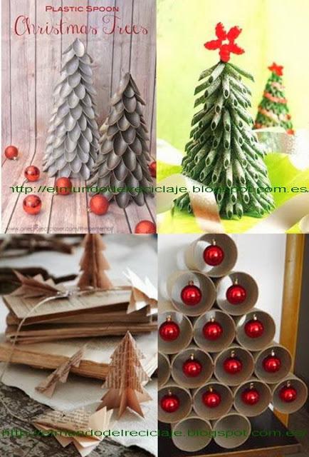 Manualidades Para Navidad Bonitas Y Originales Manualidades Y - Adornos-de-navidad-reciclados-como-hacerlos