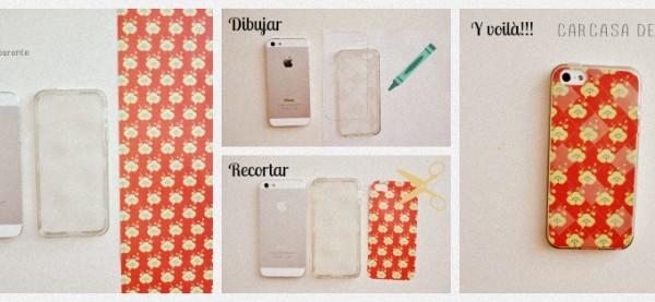 Como hago para decorar la funda de mi celular sin gastar mucho manualidades y reciclados - Como decorar una funda de movil transparente ...
