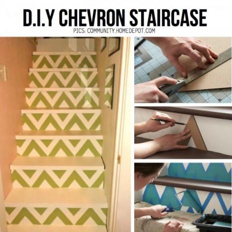 chevron-staircase-DIY
