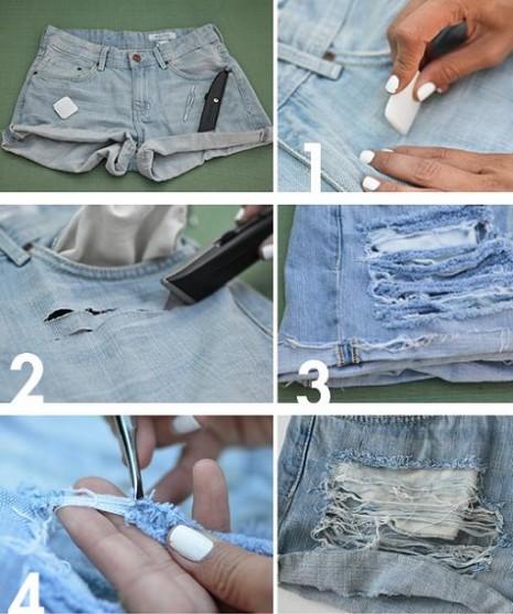 como-hacer-shorts-rasgados-1