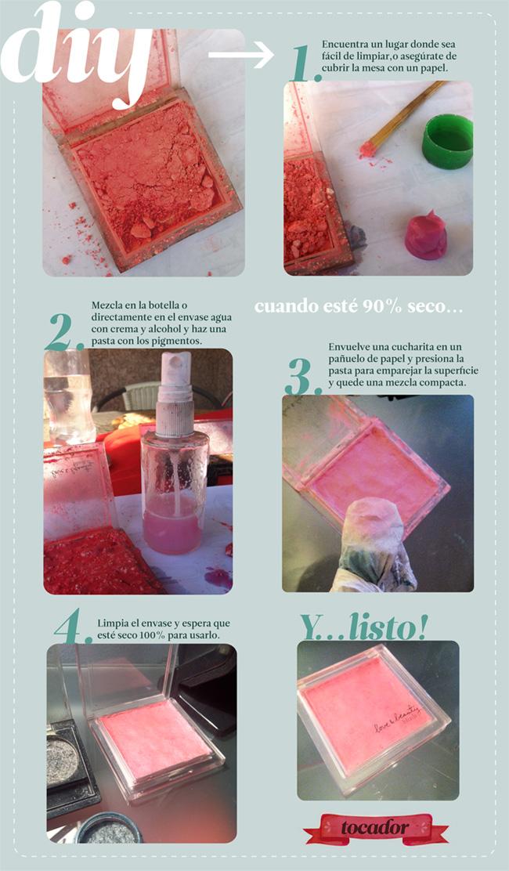 Cómo reciclar maquillaje y un organizador de maquillaje + tutoriales ...