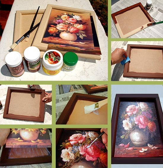 affordable simple bandeja con tcnica decoupage paso a paso en imgen with regalos manuales originales para amigas with regalos manuales originales para - Regalos Manuales Originales
