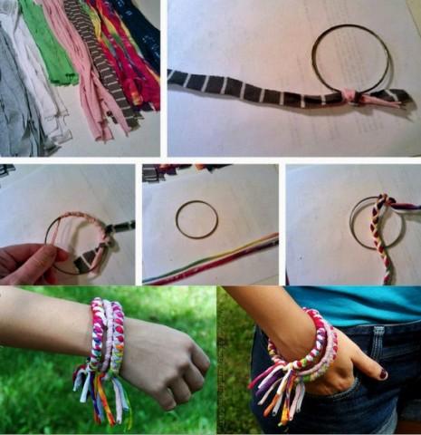 pulseras-recicladas-con-camistas-viejas