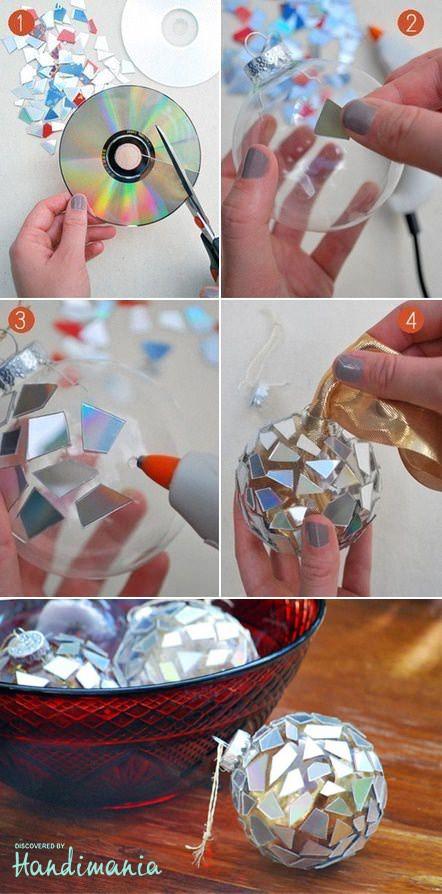 bolas-navidad-cds-reciclados
