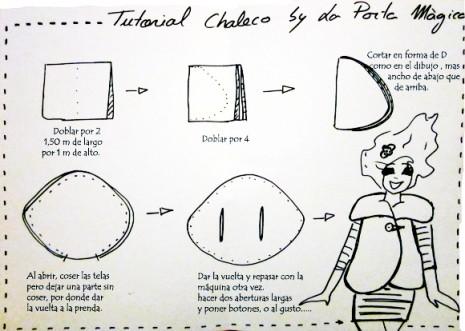 como hacer un chaleco de forma sencilla, la porta mágica, costura , coser, hacer la propia ropa,