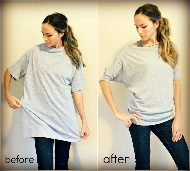 Prenda De En Delicada Transformar Indicaciones Simples Como Hombre Una Diy Mujer Remera Camiseta gqXfZgt0w