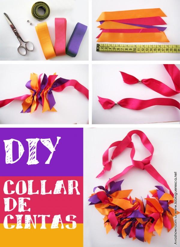 DIY collar cintas