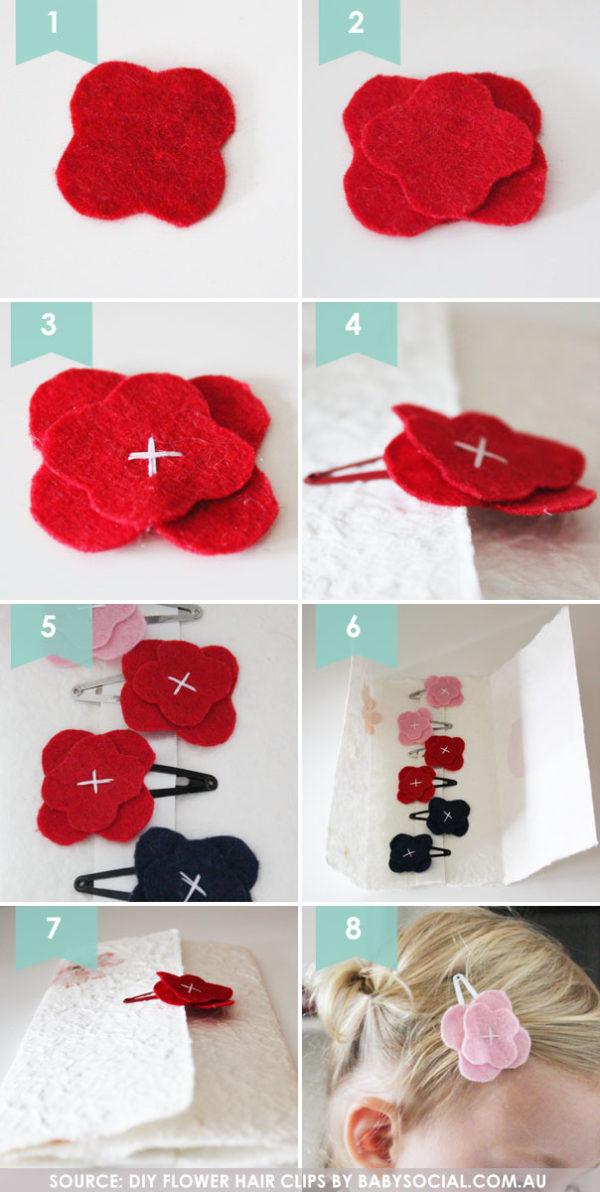 DIY-felt-flower-hair-clips-for-girl