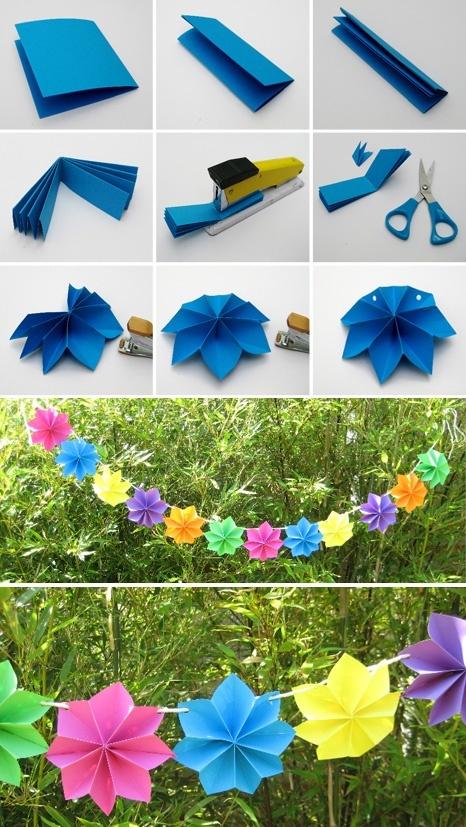 Decoracion De Fiestas Con Flores Manualidades Y Reciclados