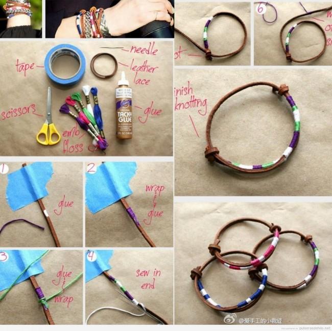 Ideas para hacer pulseras manualidades econ micas - Manualidades faciles para vender paso a paso ...