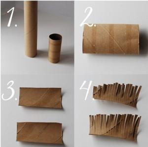 Como-hacer-flores-con-tubos-de-carton-reciclados-2-300x298
