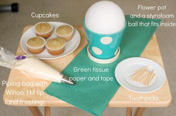 bouquet-de-cupcake-materiales