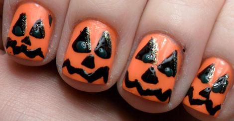 uñas halloween11