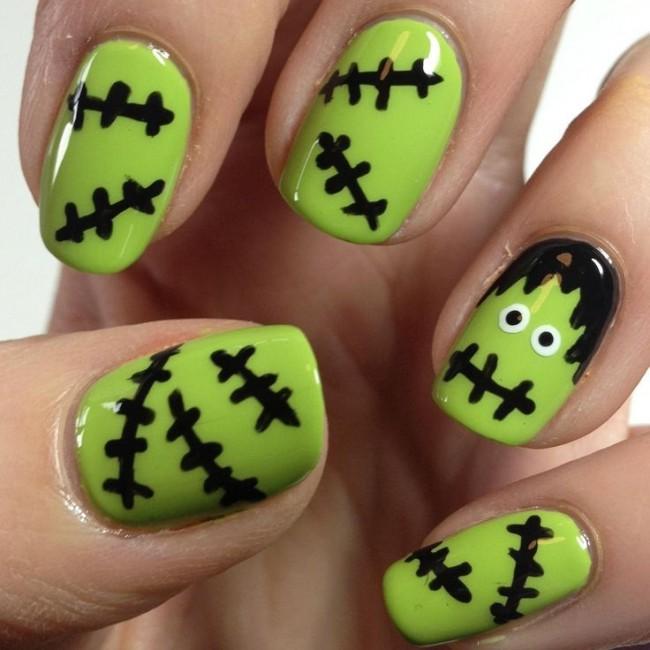 Increíble Decoraciones De Uñas De Halloween Molde - Ideas de Pintar ...